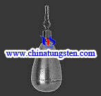 tungsten fishing sinkers
