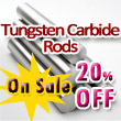 Tungsten Karbid Rods