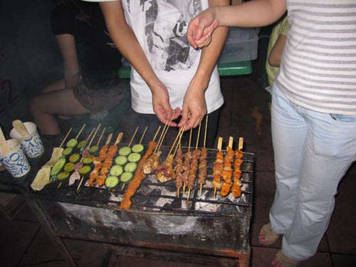 Hands-on barbecue