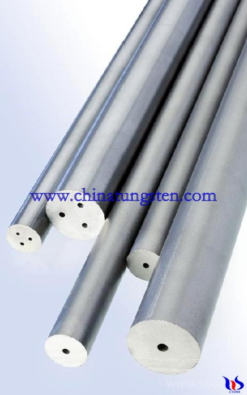 tungsten carbide rod with hole