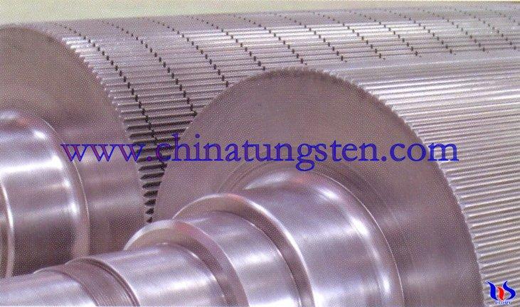 TTungsten Carbide Corrugating Roll