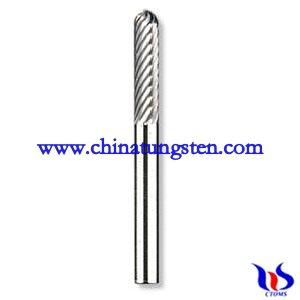 Tungsten carbide drill