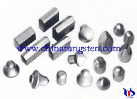 tungsten carbide chisel drill