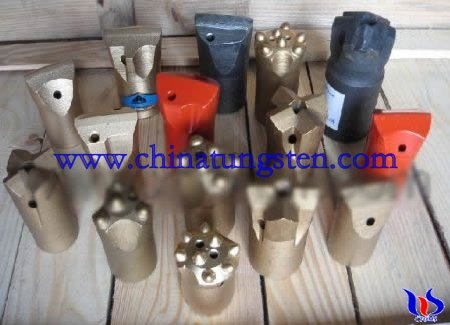 tungsten carbide rock drilling bits