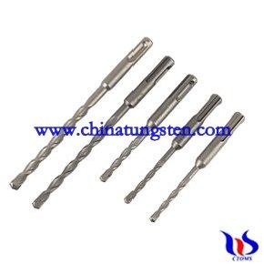 tungsten carbides drill bit set 5 pc