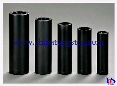 Tungsten carbide tubes
