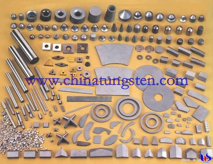 Tungsten Carbides parts