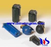tungsten carbide & alloy prefabricated fragments hand granades