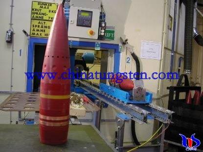 tungsten carbide bullet
