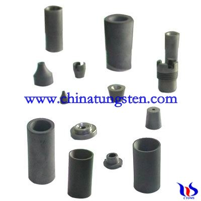 Tungsten carbide nozzle blank