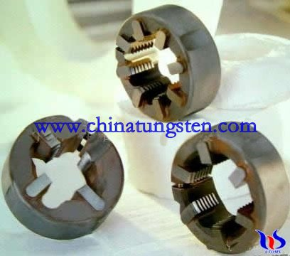 Tungsten carbide thread cutting die