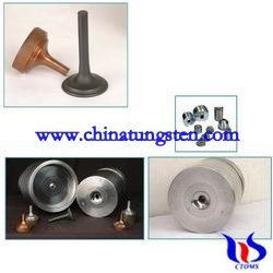 tungsten carbide dies for warm forged engine valves