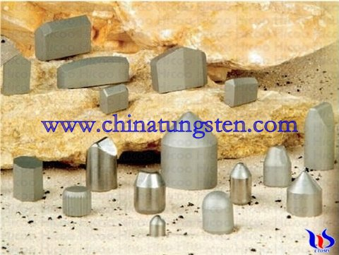 Rock drilling tips drill bits Mining bits Tungsten carbide tips Rock drilli