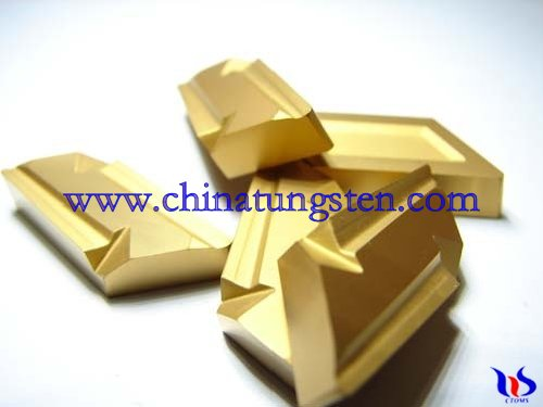 Tungsten carbide coated tips