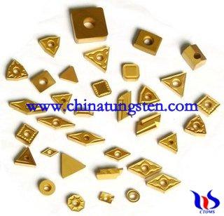 Tungsten carbide coating tips