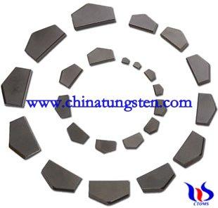 Tungstencarbide tips