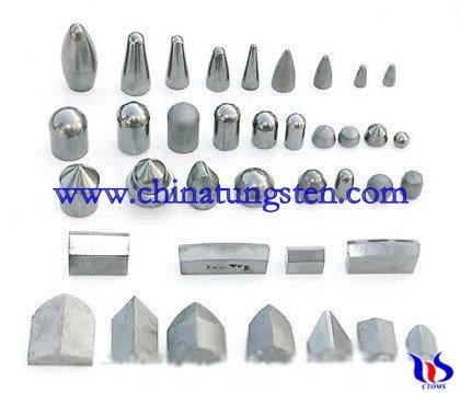 cemented carbide minin tips
