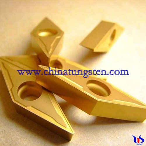coated Tungsten Carbide Inserts