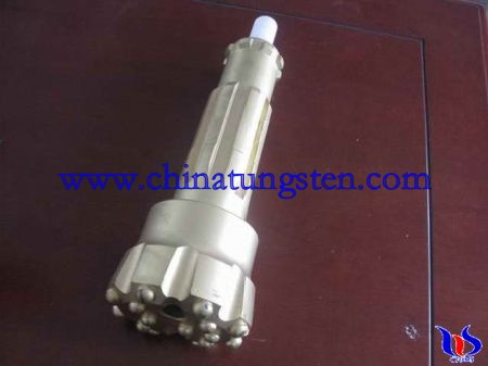 tungsten carbide DTH drilling