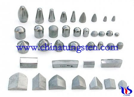 coated Tungsten buttons