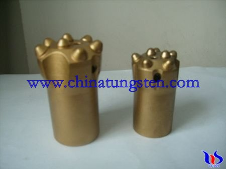 tungsten carbide taper button bit