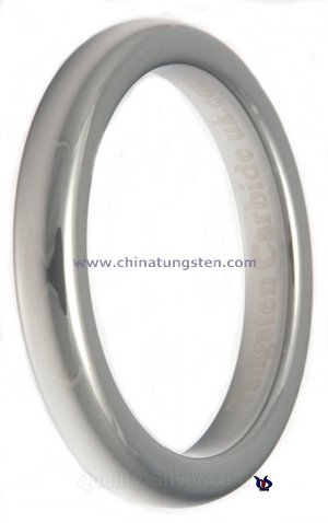 ladies tungsten ring